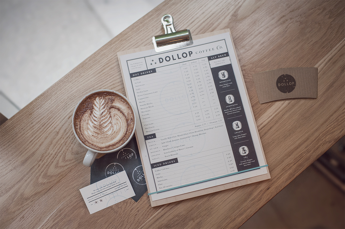 Menu board design ideas