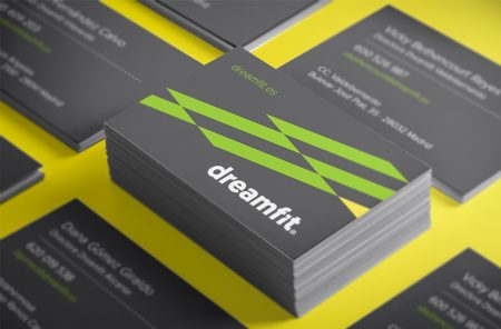 Weimark-Branding-gimnasio-dreamfit-tarjetas-visita